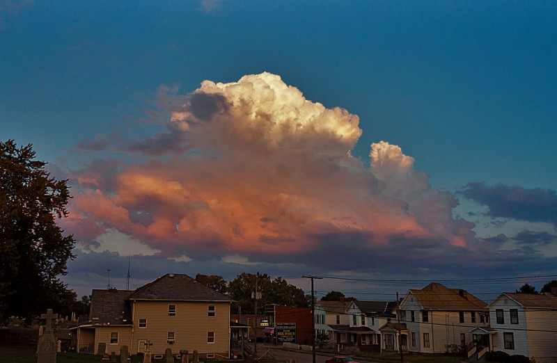 Cloud Over East End