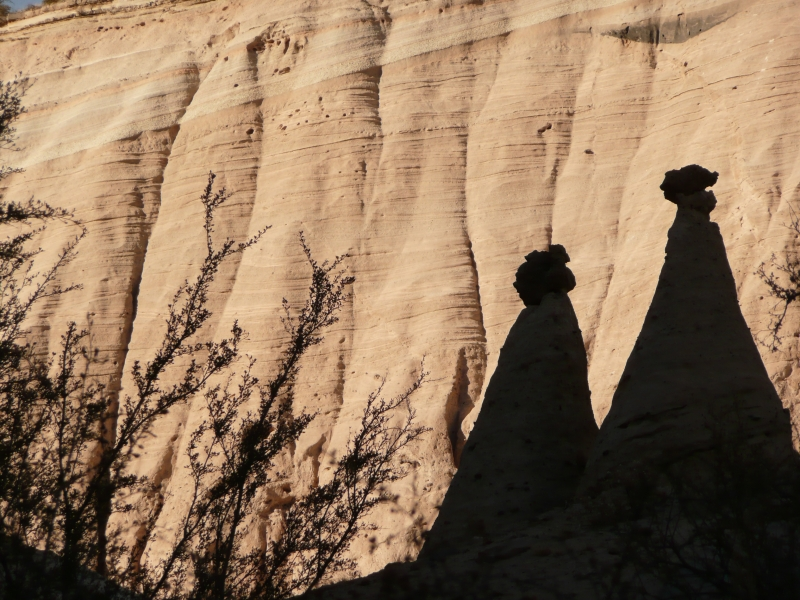 Tent Rocks Shadows