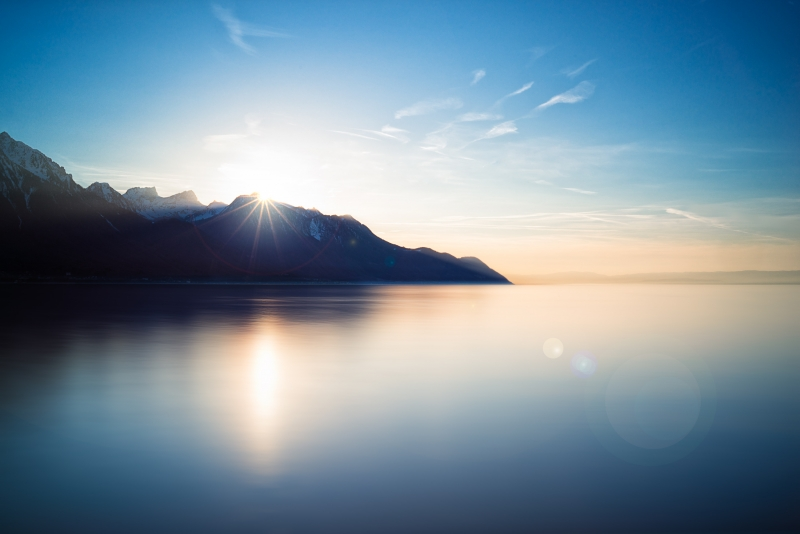 The Calm Of Lake Geneva
