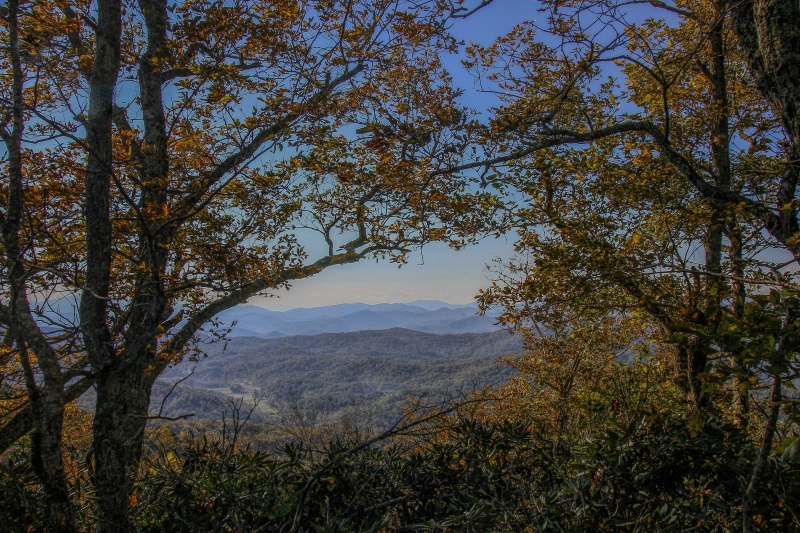 View From Summit Of Black Rock Mountain Sp