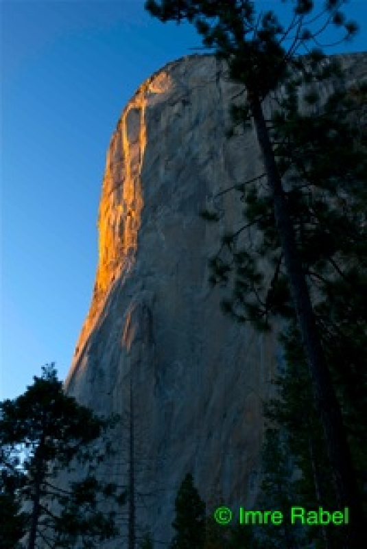 El Capitan At Sunset