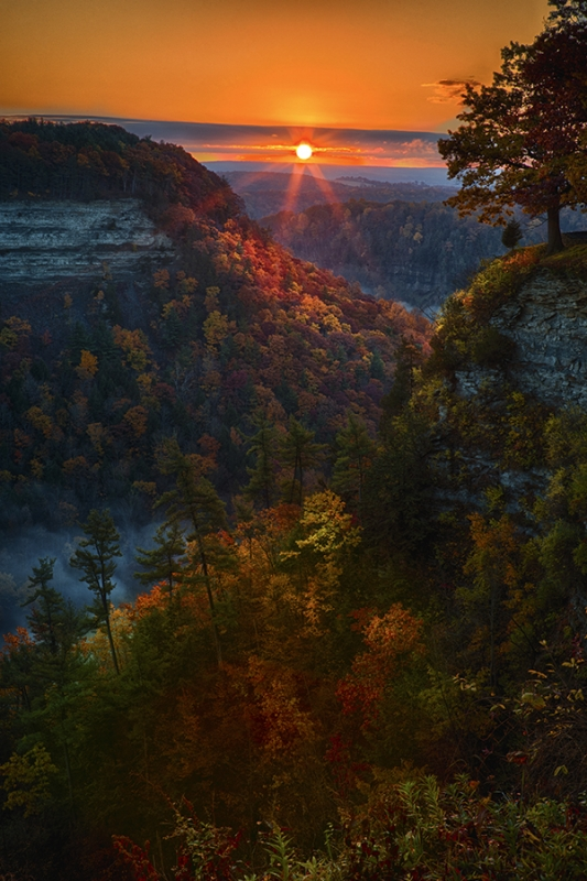 Letchworth Sunrise