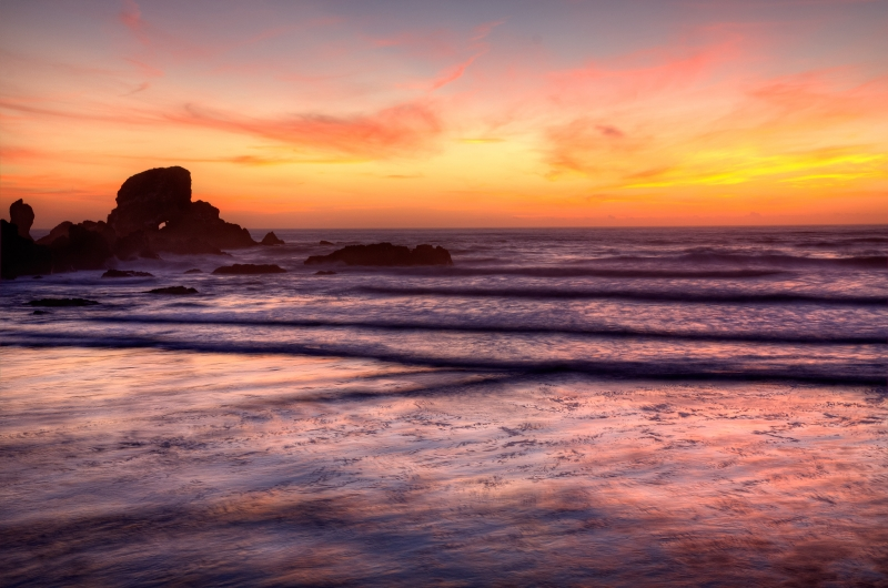 Ecola Park After Sunset