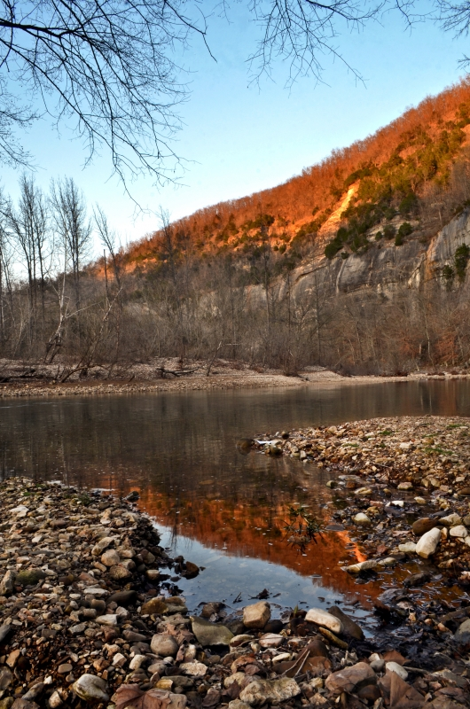 Bee Bluff Reflections