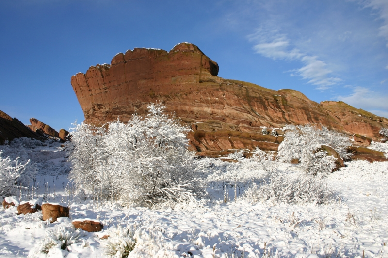 Red Rocks Snow