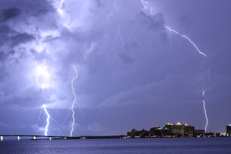 Sarasota Light Show