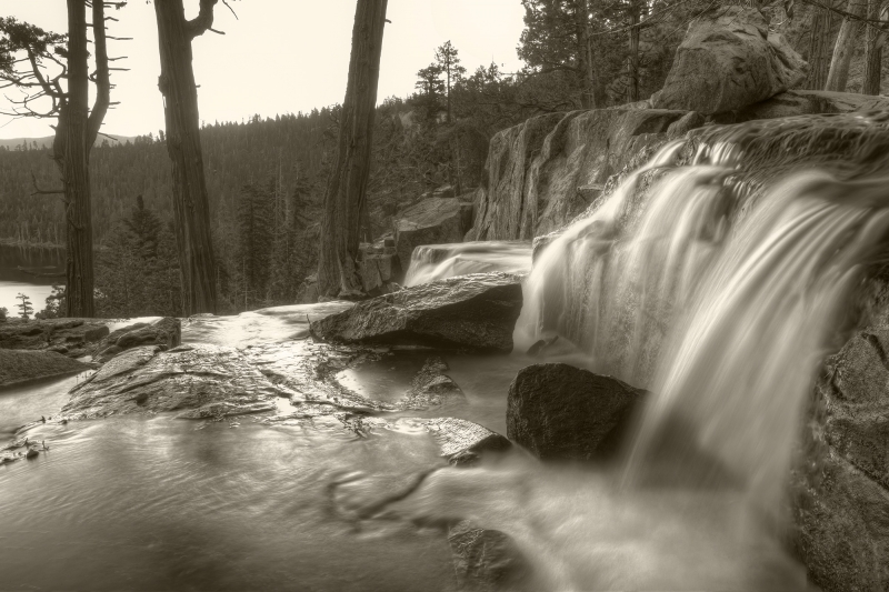 Eagle Falls-lake Tahoe