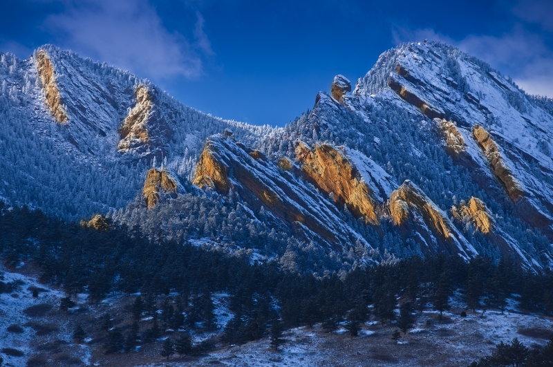 Flatirons Sunset