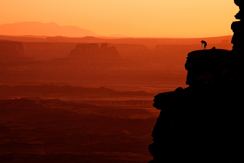Working The Light, Canyonlands