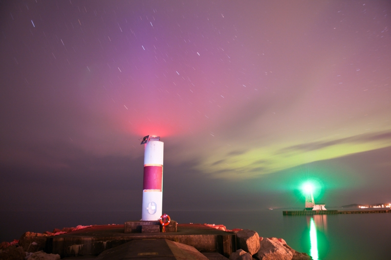 Aurora Over Ludington