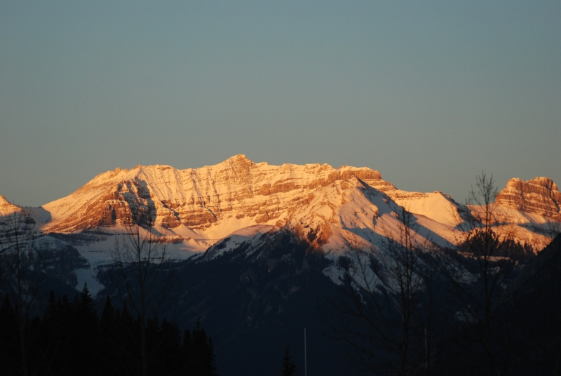 Sunrise On Sundance Mountains