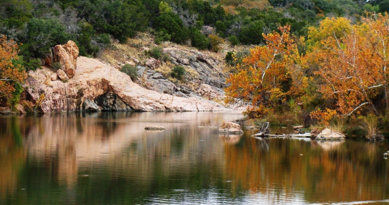 Fall At Inks Lake