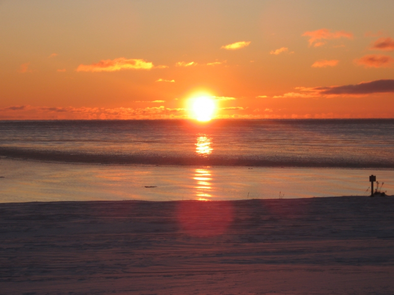 Sunrise On The Bay Of Chaleur