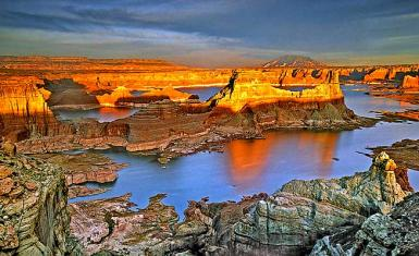 Padre Bay Fro Alstrom Point – Lake Powell