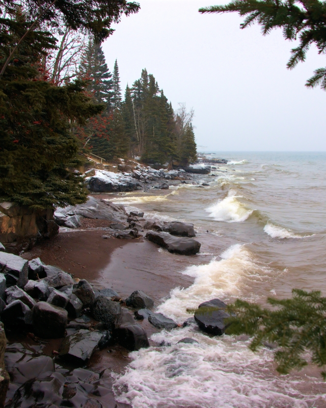 North Shore In Winter