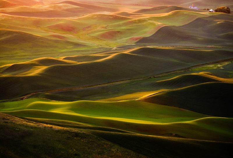 Sunset On The Palouse