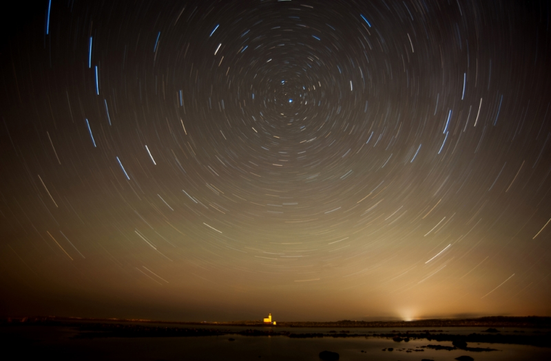 Stars, Cocuille River Lighthouse