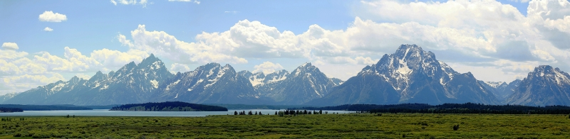 Clouds Over The Tetons