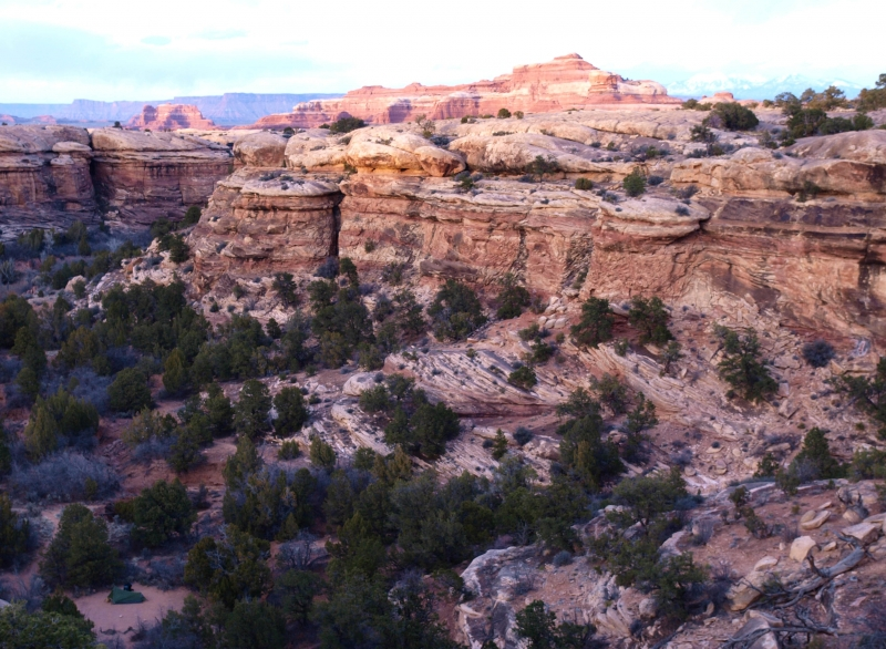 Backpacking In The Canyon