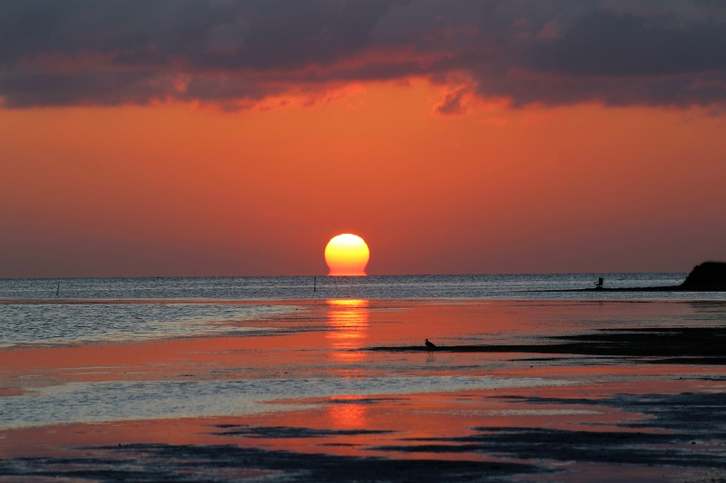 Sunset On South Padre Island