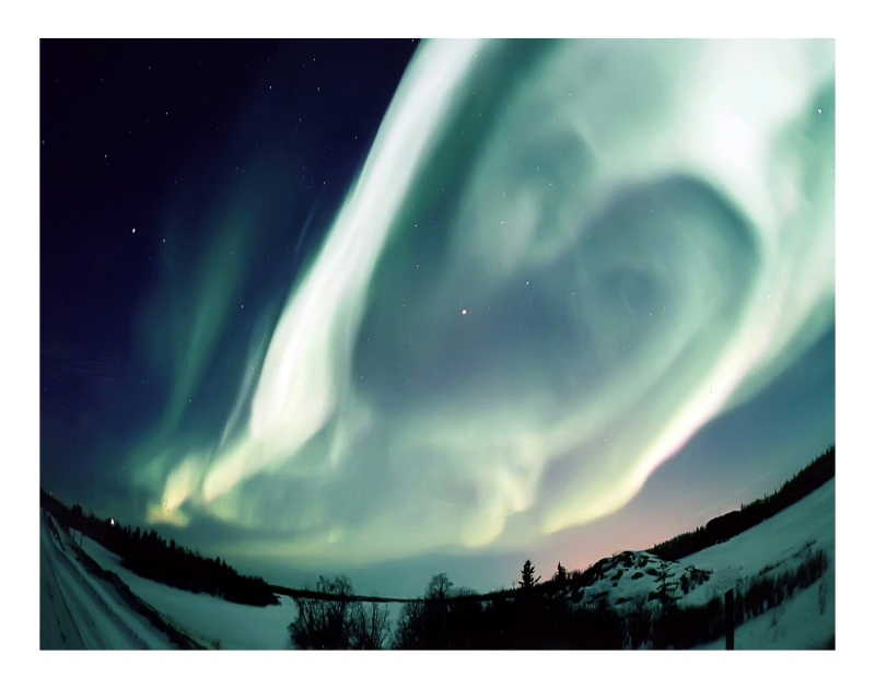 A Sky Full Of Aurora.
