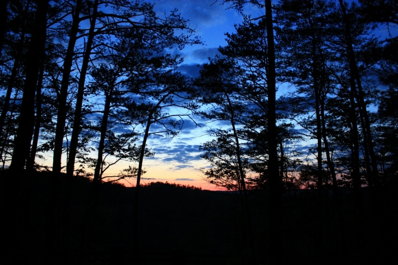 Red River Gorge Sunset