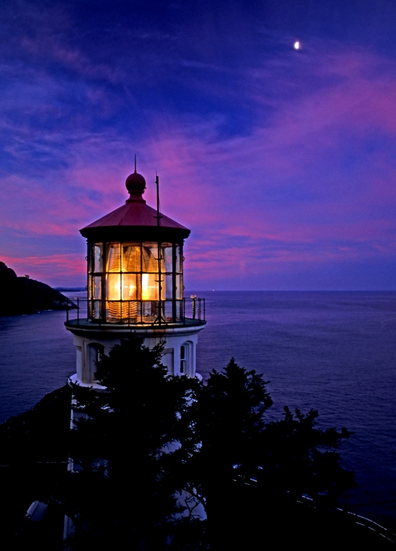 Sunrise At Heceta Lighthouse