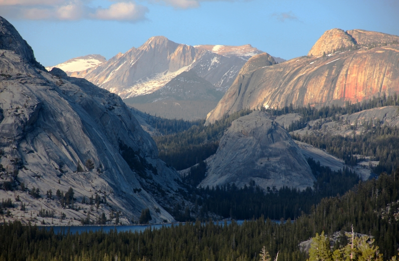 Lake Tenaya And Mt Conness – Yosmite National Park