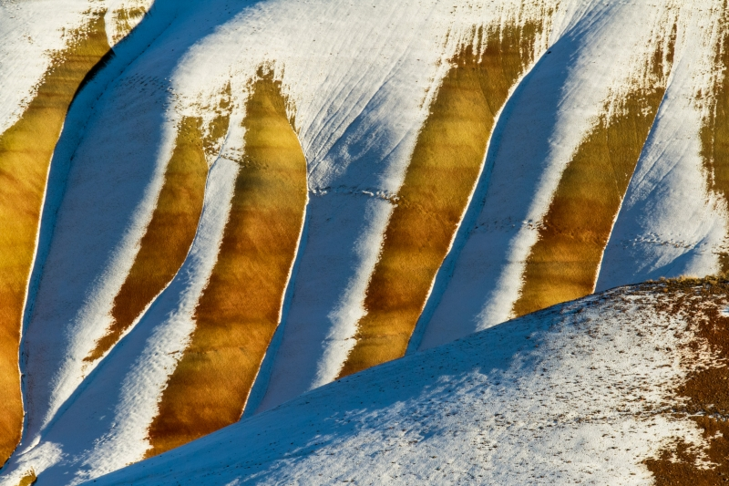 Painted Hills Snow