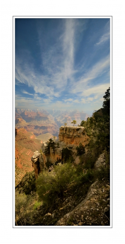 Vertical Panorama / Grand Canyon