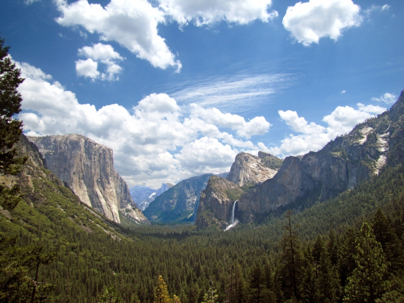 Vast Sky Of Yosemite