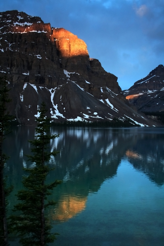 Bow Lake Reflection