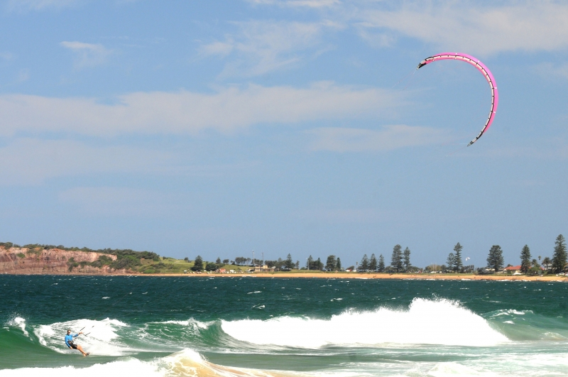 Parasurfing At Narrabeen Beach