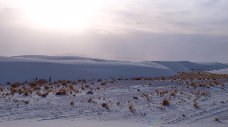 At The Base Of The Dunes