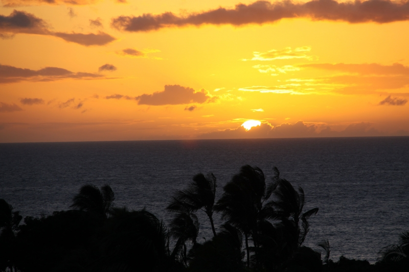 Sunset At Wailea, Hi