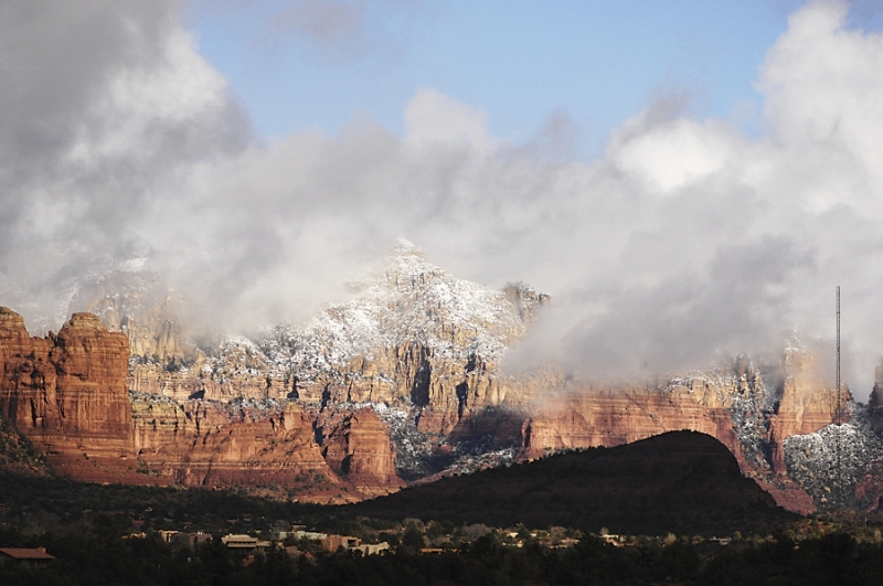 Sedona In Snow…