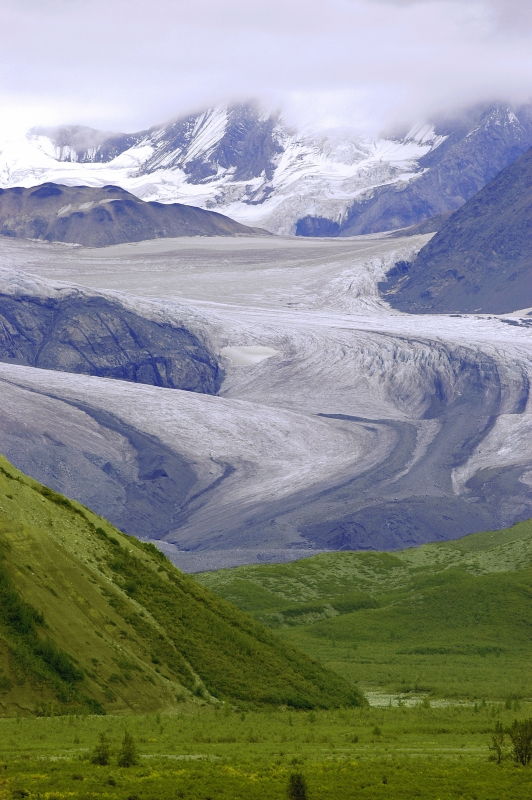 Alaskan Glacial Mountains