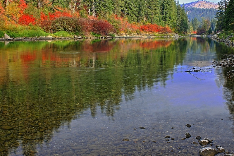 Autumn In Tumwater Canyon