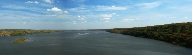 Illinois River Panoramic