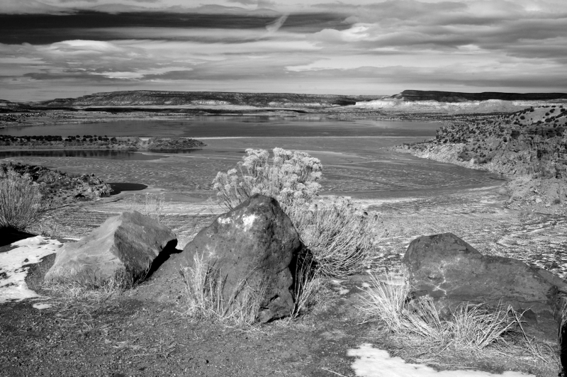 Winter, Abiquiu Lake