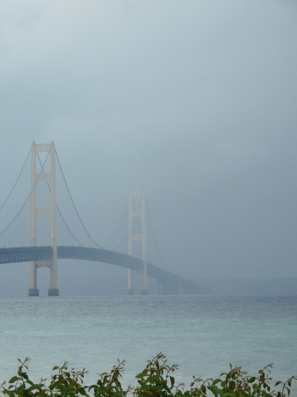 """mackinaw In The Mist"""