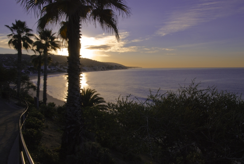 Laguna Beach Dawn From The Boardwalk