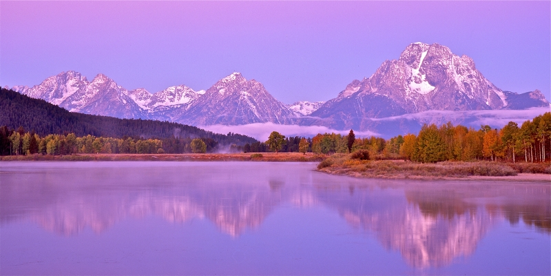 Dawn In Tetons