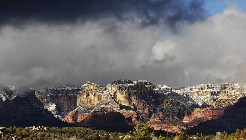 Sedona In Snow …