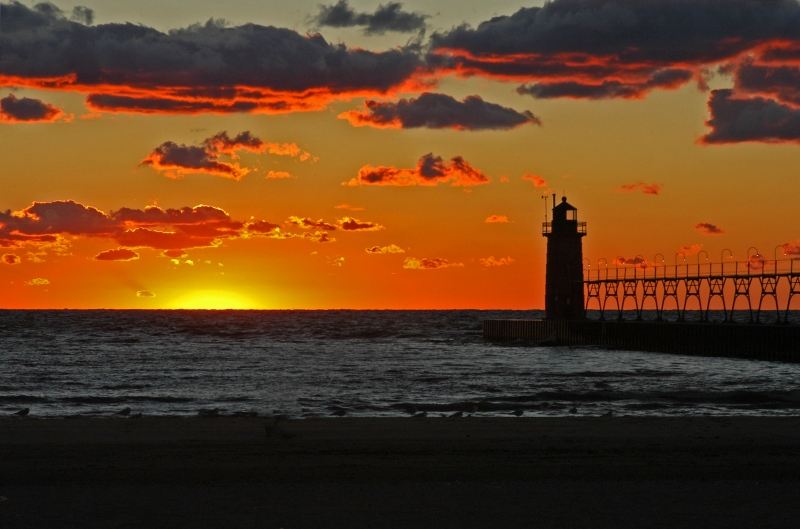 South Haven Autumn Sunset #2