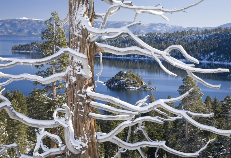 Early Snow Emerald Bay