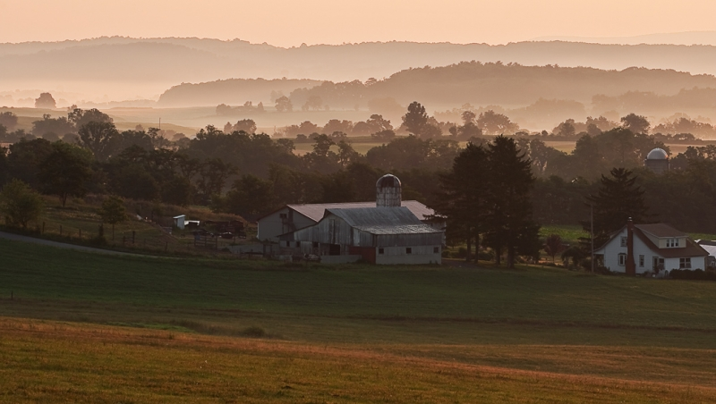 Pennsylvania, Morrison Cover, Farmland