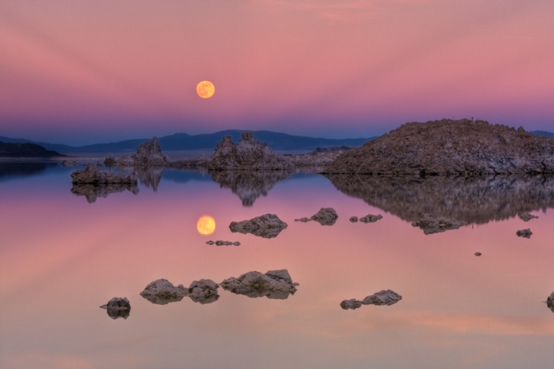 Mono Lake Sunset Dream