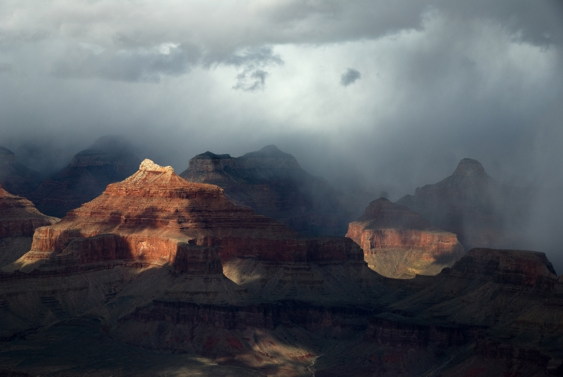 Spring Storm, Grand Canyon
