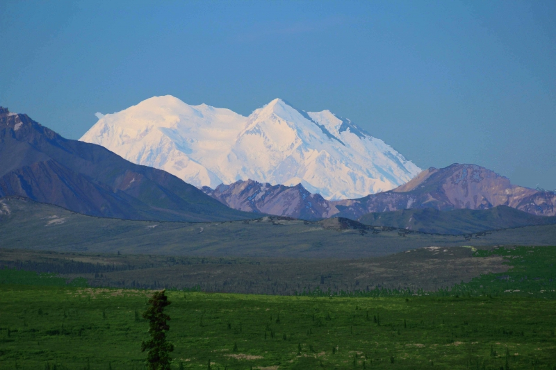 Mt. Mckinley . . . The High One